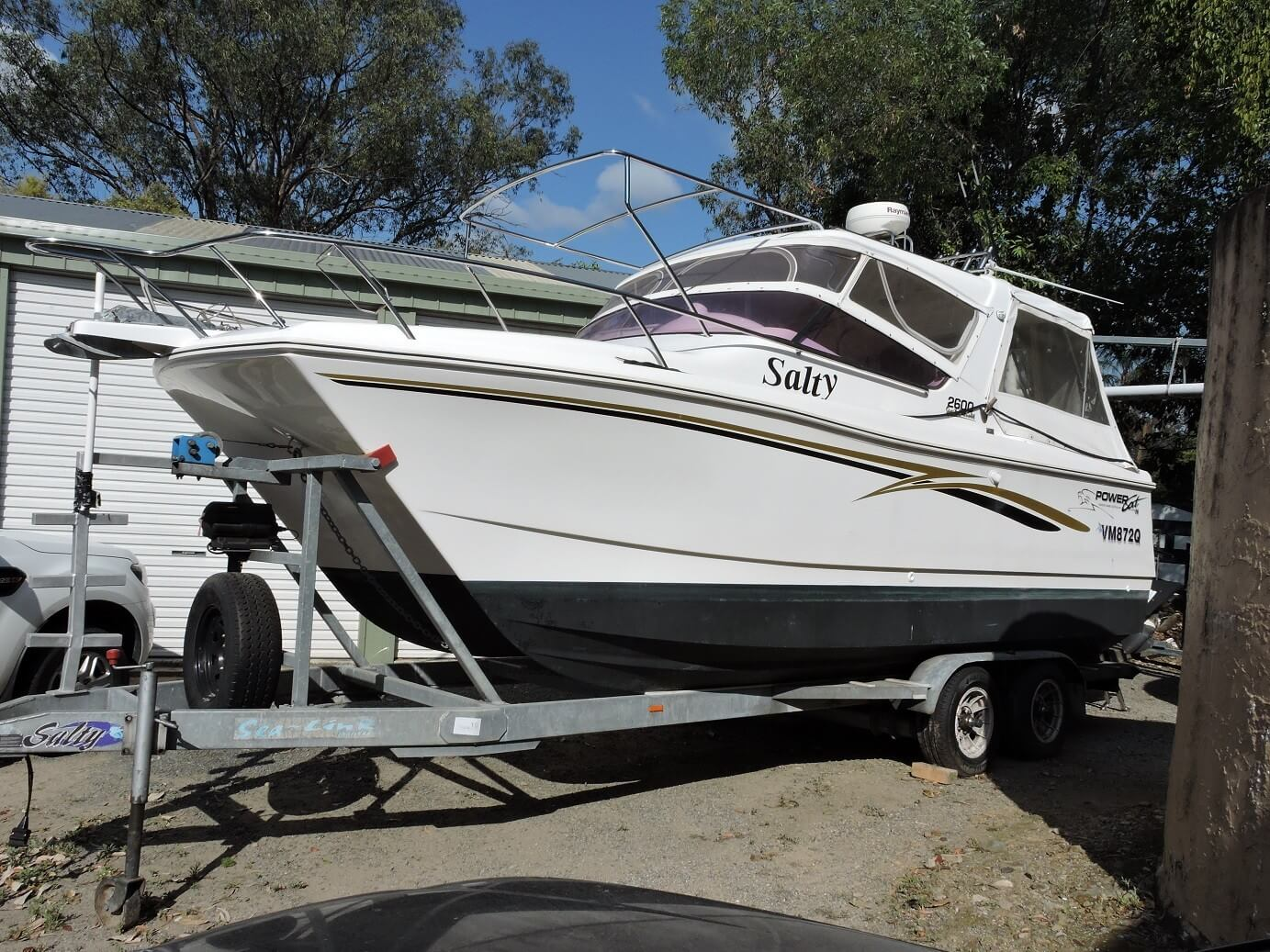 "2006 Powercat 2600 Sports Cabriolet ""Salty"""