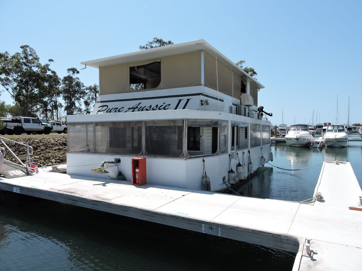 1992 Houseboat 40ft Supercat Pure Aussie II