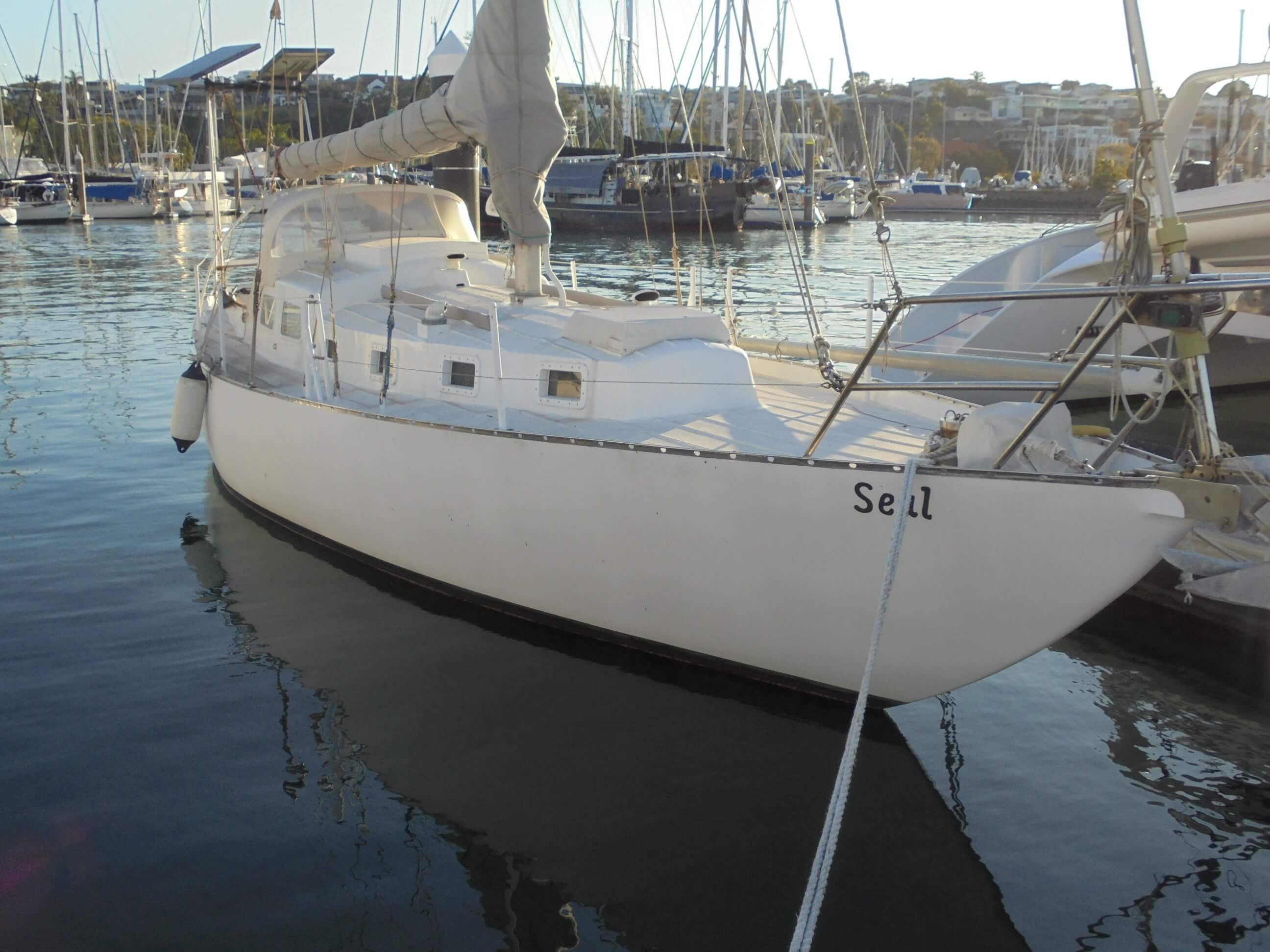 36ft Round Bilge Steel Sloop - Must be sold