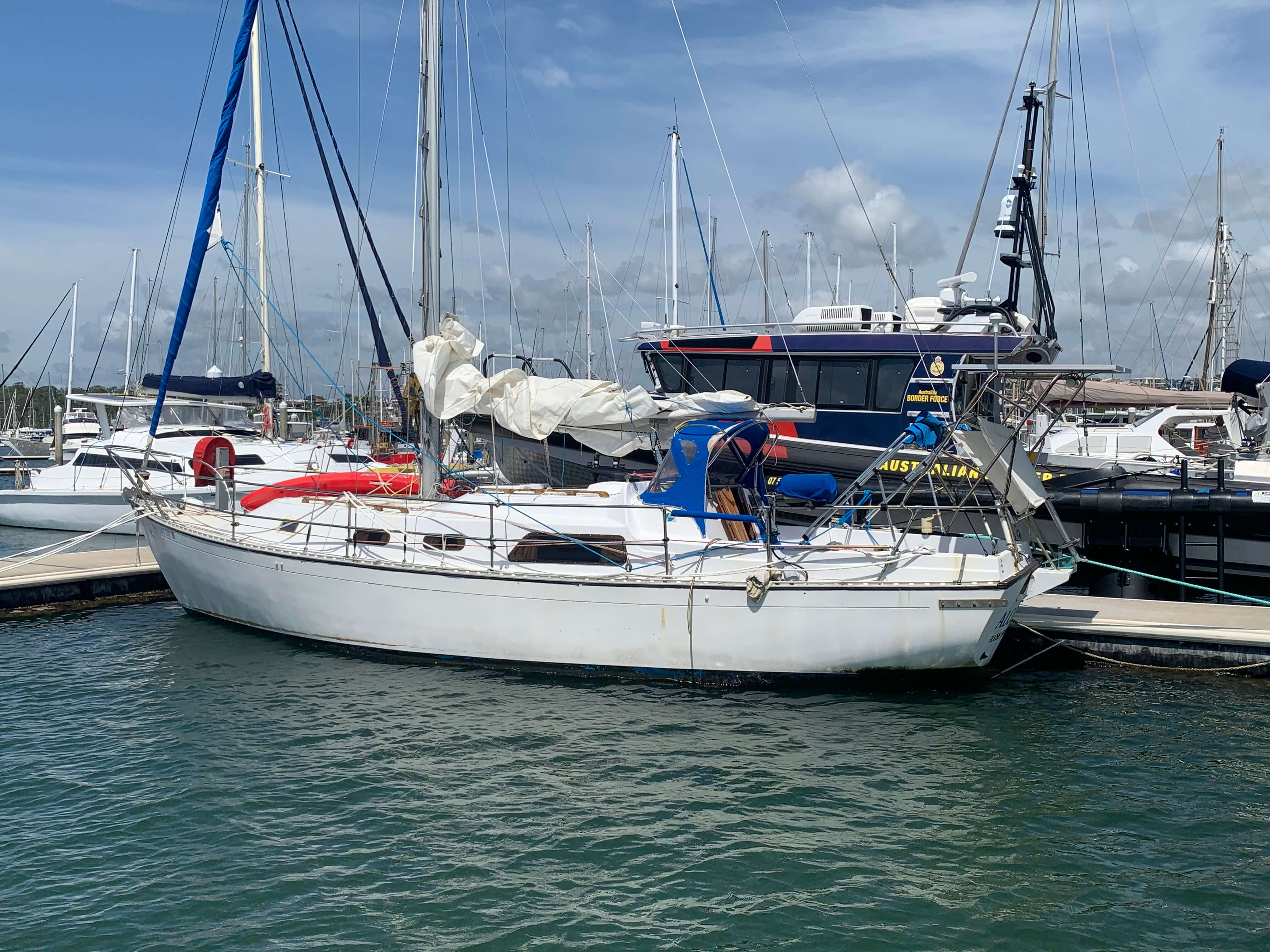 34 Grampian Sloop- TO BE SOLD UNRESERVED.